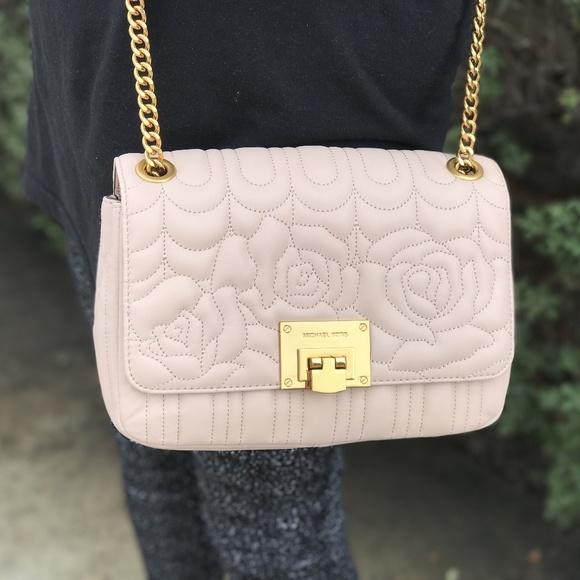 eeab7fb595f9 Michael Kors Bags | Vivianne Quilted Shoulder Flap Bag | Poshmark